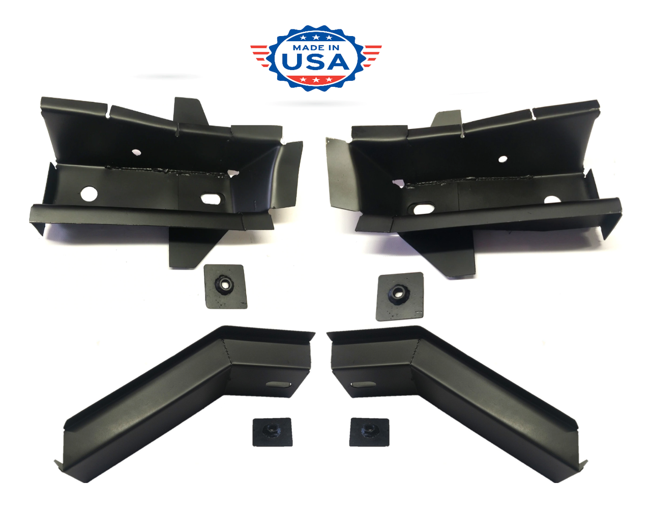 1972-1993 Dodge Ram & Ramcharger Front & Rear Cab Mount Set (4 Piece Set)