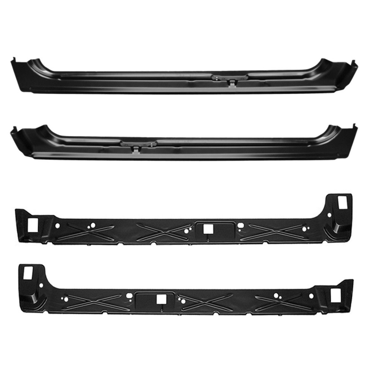 1999 2006 Chevy Gmc Pickup Full Replacement Outer And Inner Rocker Panel Set Body Shop Price