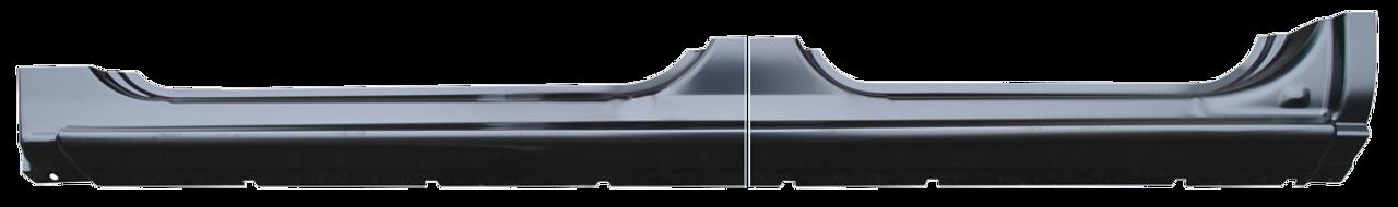 Lh -1999-2006 Chevy & Gmc Truck Full Rocker Panel-4 Door Crew Cab (2 Pc Design)