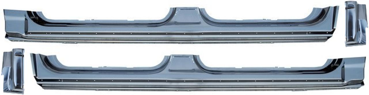 ROCKER PANELS F-150 CREW CAB 2004-2010 PAIR BEST QUALITY