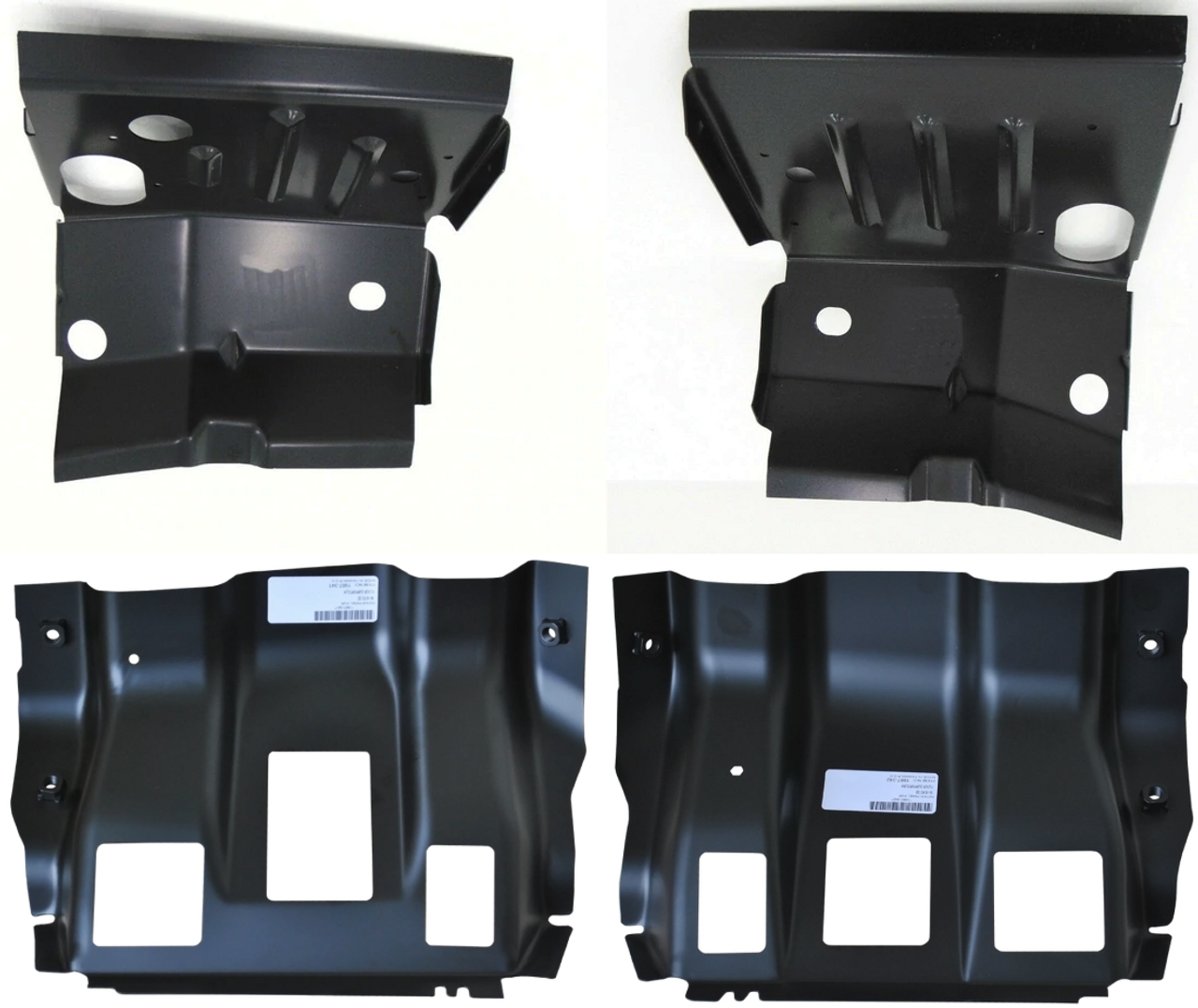 Lh Rh 1999-2016 Ford Superduty Front Cab Mounts And Outer Floor Pan Supports