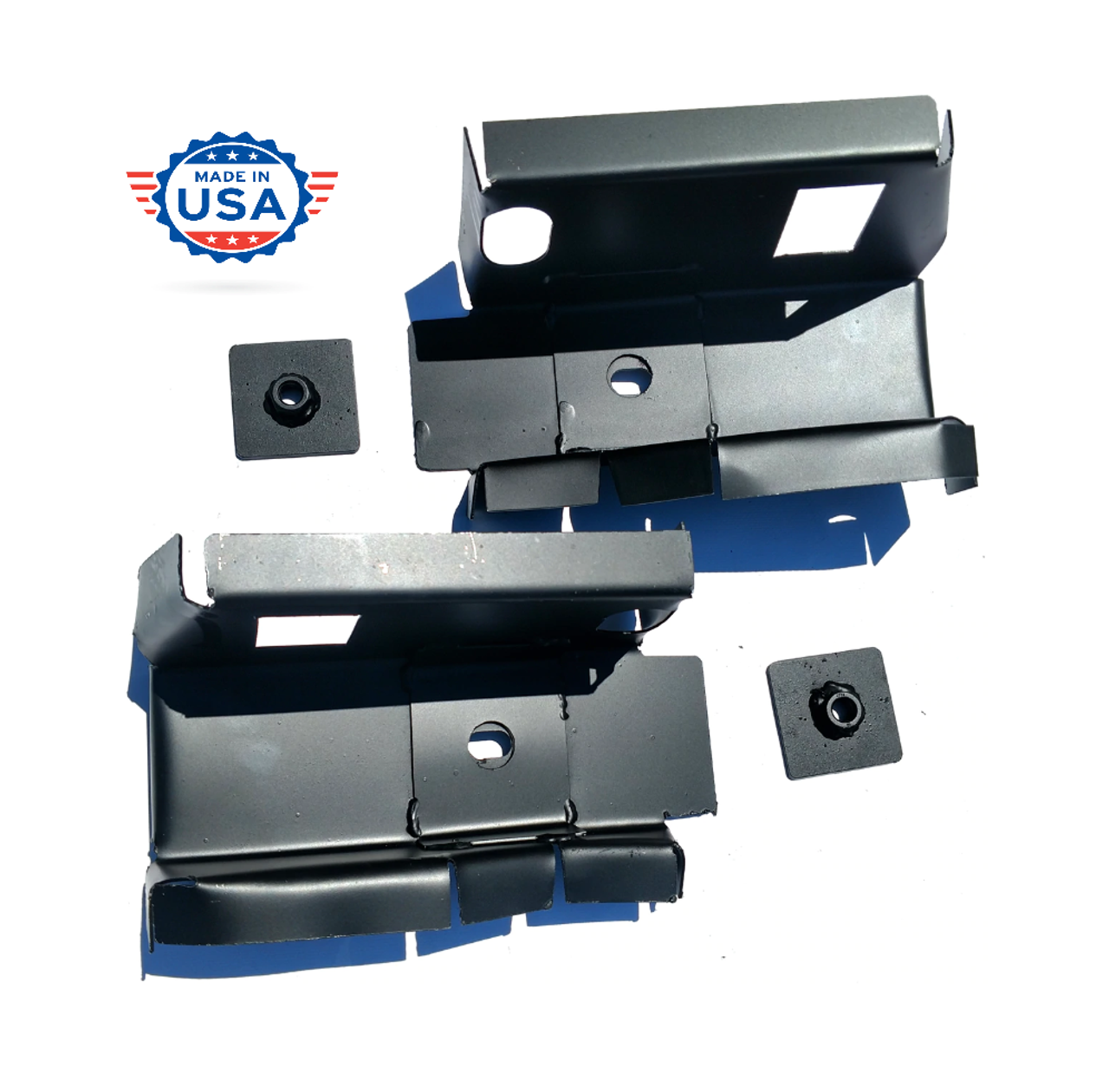 1997-2004 Dodge Dakota 2 Door Steel Front Cab Mount Set (Except 4 Door)