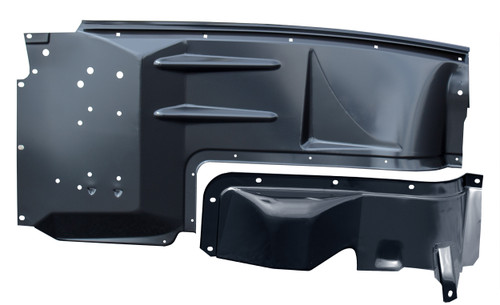Auto Metal Direct 990-4548-1P Rear Bumper 1948-1952 Ford F1 F2 with Stepside Bed