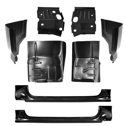 1980-1996 Ford Pickup Cab Floor Driver Side