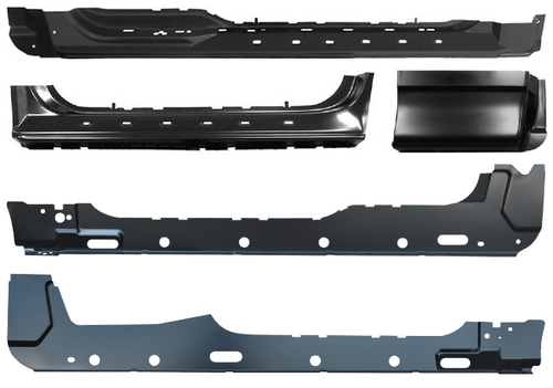 Classic 2 Current Fabrication Rocker Panel compatible with 1997-2003 Ford F-150 Super Cab 4dr Extended Cab /& 3dr Factory Style Rocker Panel RH