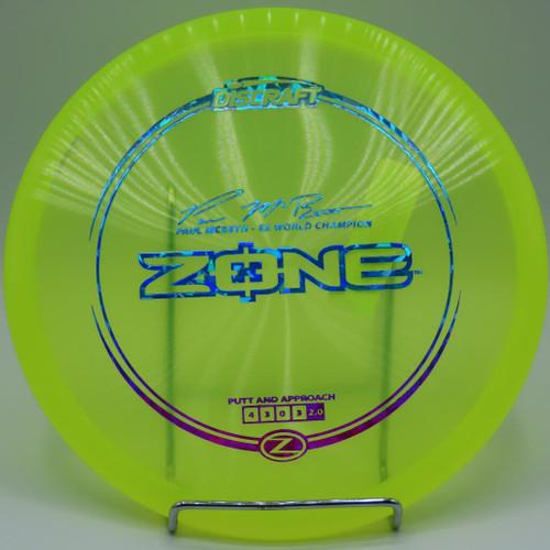 Paul McBeth Discraft Elite Z Zone
