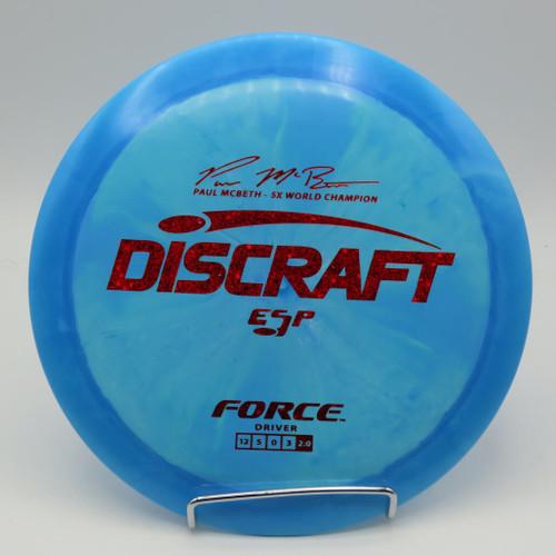 Discraft ESP Force McBeth Signature Series