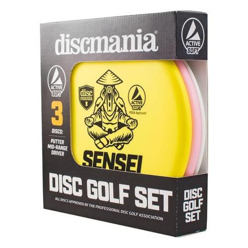 Soft Active Disc Golf Set