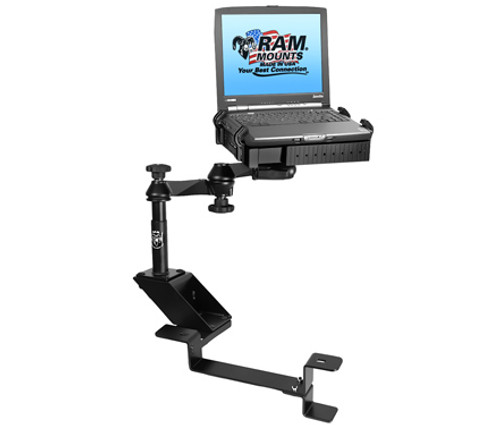 Panasonic Laptop Mount For The Chevrolet 1500 C/K, 2500 C/K, 3500 C/K, Blazer K-5, Silverado, Tahoe, Suburban, Yukon & GMC Sierra