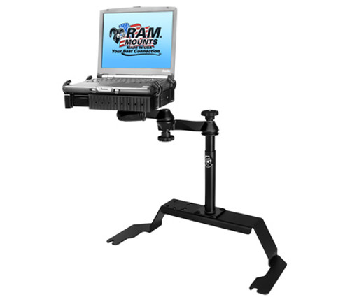 Panasonic Toughbook Mount For The Chevrolet 1500 C/K, 2500 C/K, 3500 C/K, Blazer K-5, Silverado, Tahoe, Suburban, Yukon & GMC Sierra