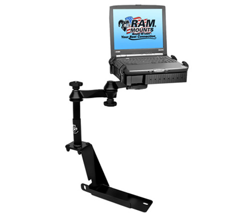 Panasonic Toughbook Mount For The Ford Explorer, Explorer Sport Trac and Mercury Mountaineer