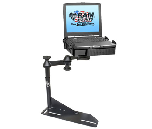 Panasonic Toughbook Mount For The Chevy Camaro, Caprice, Ford Crown Victoria Police Interceptor and Lincoln Town Car
