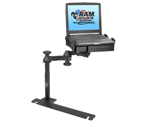 Panasonic Toughbook Mount For The RAM VB 129-SW1, Dodge Challenger, Charger, Magnum, Sprinter Van, Freightliner Sprinter & Mercedes Sprinter Van