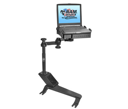 Panasonic Toughbook Mount For The Cadillac Escalade, Chevrolet 2500 C/K, 3500 C/K, Avalanche, Silverado, Suburban, Tahoe, GMC Sierra & Yukon