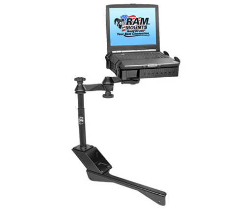 Panasonic Toughbook Laptop Mount for Chrysler 300 and Dodge Charger/Magnum, Non-Police Cars