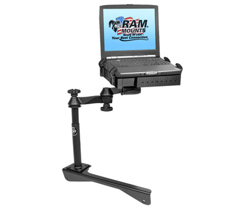 Panasonic Toughbook Laptop Mount for Dodge Charger Police Vehicle Package