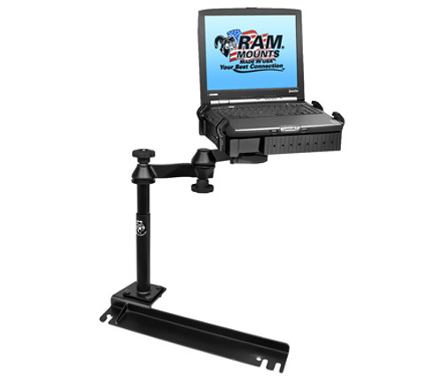 Panasonic Toughbook Laptop Mount for Chrysler Town & Country, Dodge Caravan, & Ford Transit