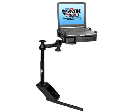 "Panasonic Toughbook Laptop Mount for Dodge Ram with 4"" Riser"