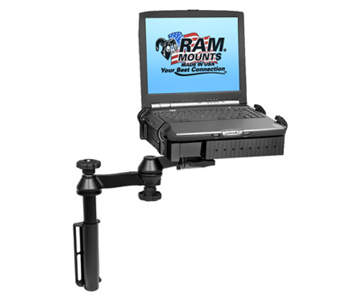 Panasonic Toughbook Mount Universal, Flat Surface, Drill-Down