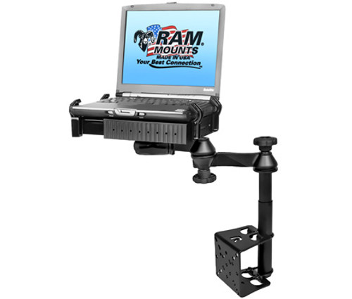 Vehicle Mount, Tele-pole No Drill Vehicle Laptop Mount Stand Universal | RAM-VB-184T-SW1