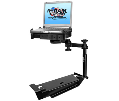 Panasonic Toughbook Laptop Mount for Chevrolet Caprice Police Vehicle