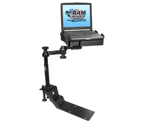 Laptop Mount, RAM Universal Drill Down