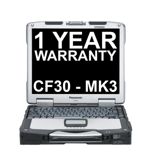 Refurbished Toughbook 30 MK3 - 320GB HDD - 1 Year Replacement Warranty
