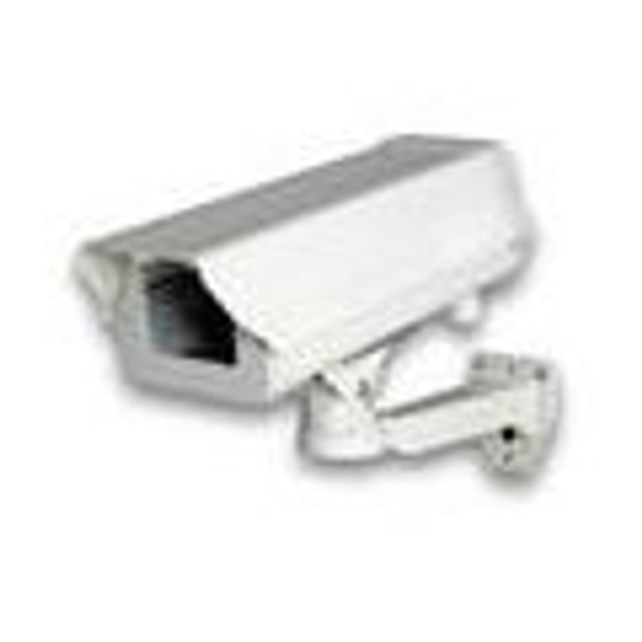 White Hikvision Camera Indoor//Outdoor housing with Heater//Blower