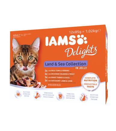 Iams Delights Gravy Multipack Land & Sea