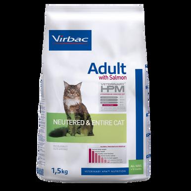 Adult Cat med Lax