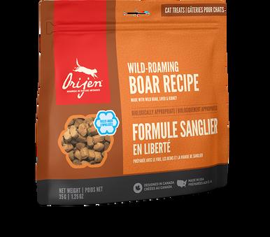 Cat Treats Wild Boar