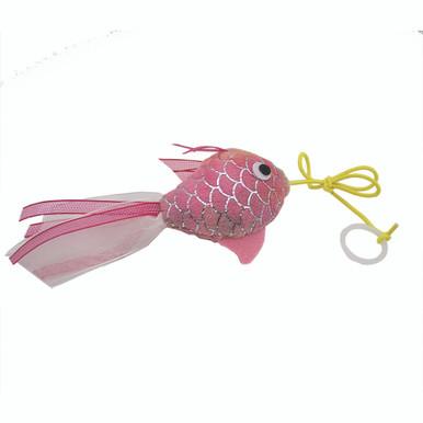 Fiskfjällsmönstrad Guldfisk med Sidenband