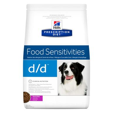 Prescription Diet d/d hundfoder med anka och ris