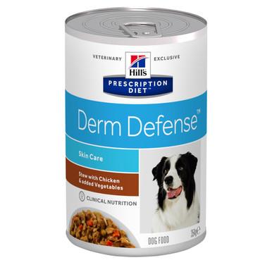 Prescription Diet Derm Defense Stew hundfoder kyckling & grönsaker