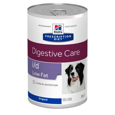 Prescription Diet i/d Low Fat hundfoder
