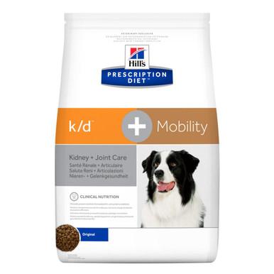 Prescription Diet k/d + Mobility hundfoder