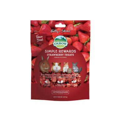 Simple rewards Strawberry treats