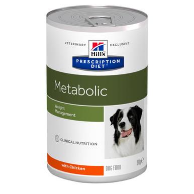 Prescription Diet Metabolic hundfoder