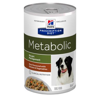 Prescription Diet Metabolic Stew hundfoder med kyckling & grönsaker