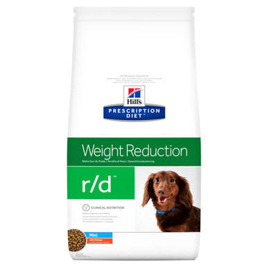 Prescription Diet r/d Mini hundfoder med kyckling