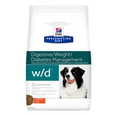 Prescription Diet w/d hundfoder med kyckling
