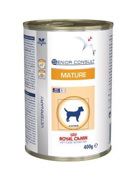 Veterinary Diets Mature Dog Can