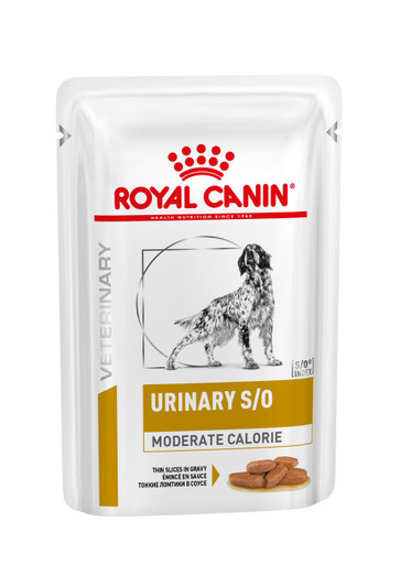 Veterinary Diets Dog Urinary S/O Moderate Calorie Slices in Gravy