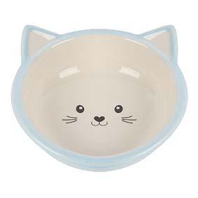 Kattskål i keramik