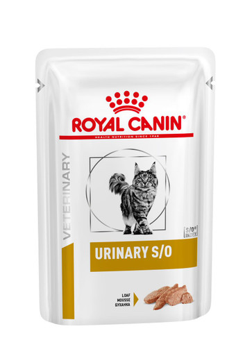 Veterinary Diets Cat Urinary S/O Loaf Pouch