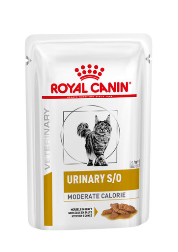 Veterinary Diets Cat Urinary S/O Moderate Calorie Morcels in Gravy Pouch