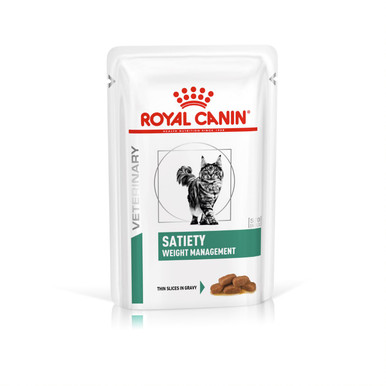 Veterinary Diets Weight Management Satiety Thin Slices In Gravy Pouch