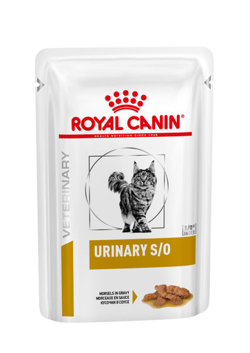 Veterinary Diets Cat Urinary S/O Morcels in Gravy Pouch
