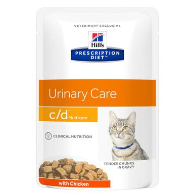 Prescription Diet c/d Multicare kattfoder kyckling