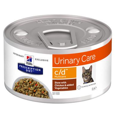 Prescription Diet c/d Multicare Stew kattfoder med kyckling & grönsaker